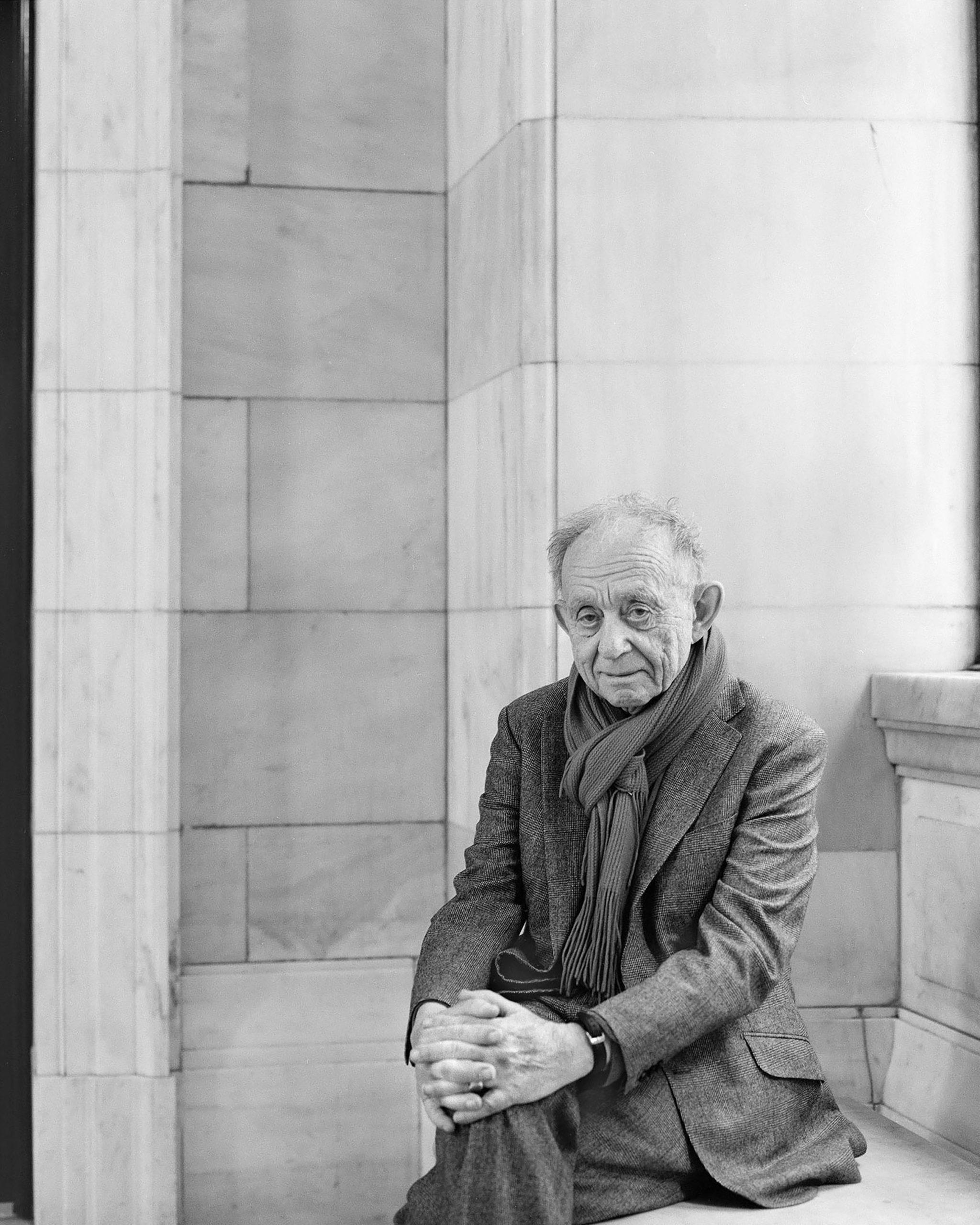 Filmmaker Frederick Wiseman.