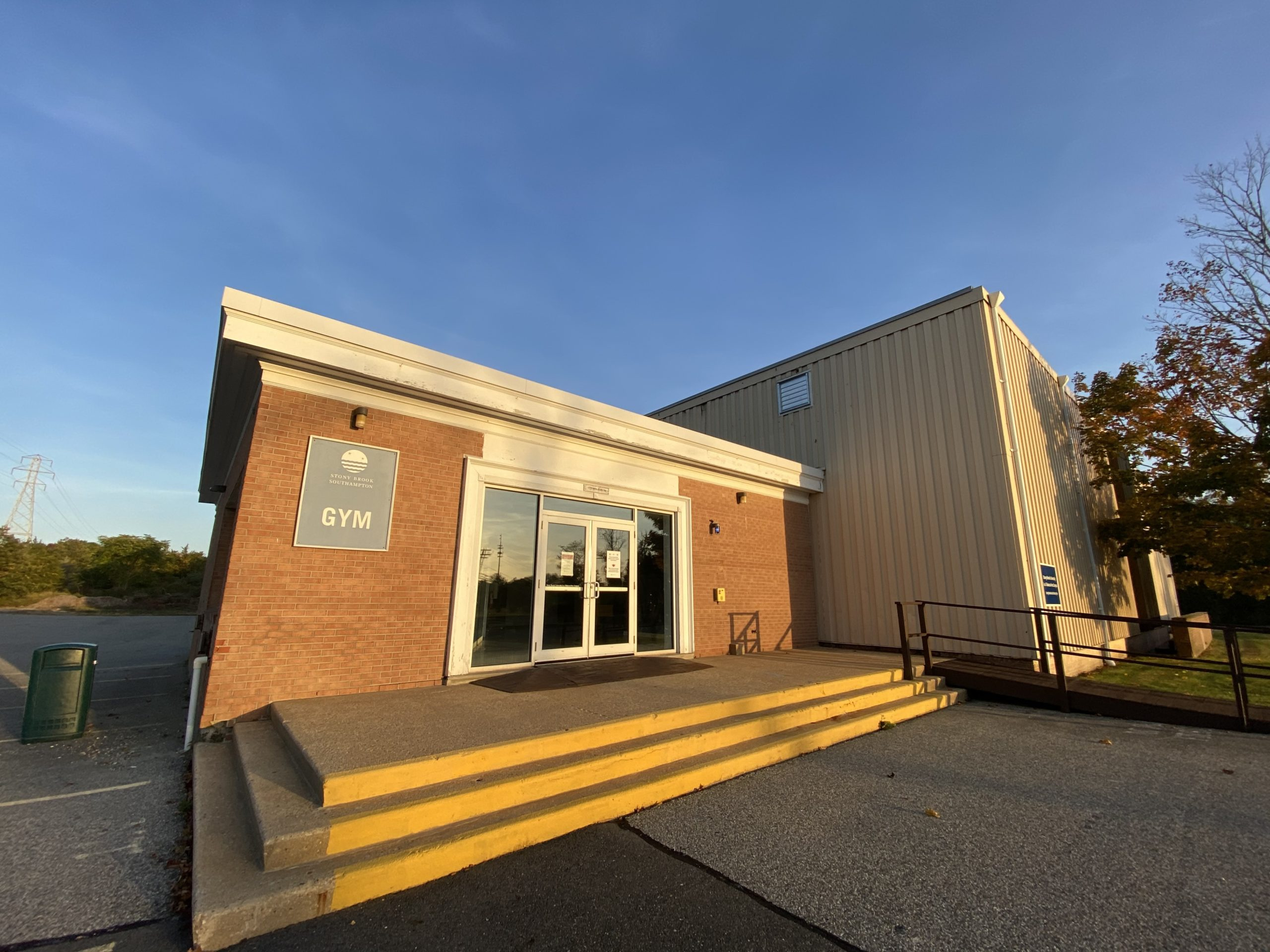 The gymnasium at Stony Brook University-Southampton campus on Tuckahoe Road will host early voting starting this weekend.