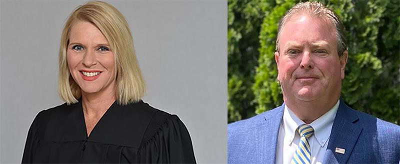 Karen Sartain and Patrick Gunn