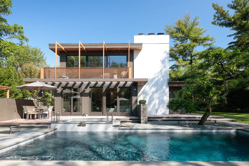 Kurt Giehl and Jeff Ragovin's Springs home by architect Reid Balthaser of RTB Design Services.