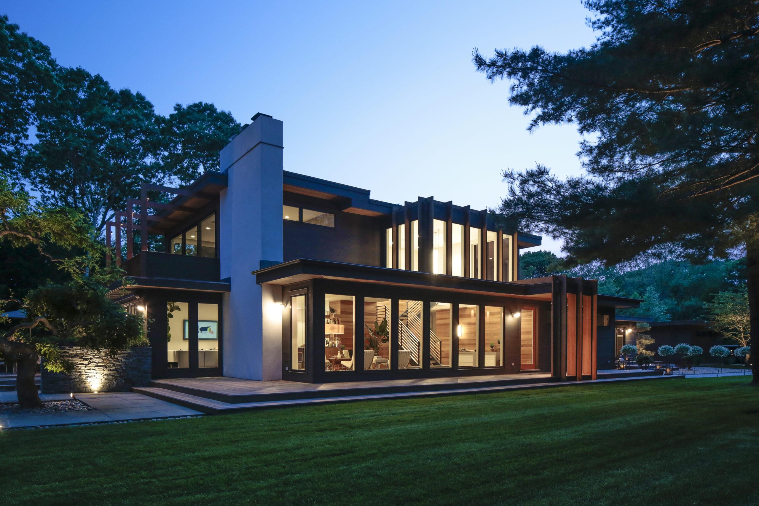 Kurt Giehl and Jeff Ragovin's Springs home.
