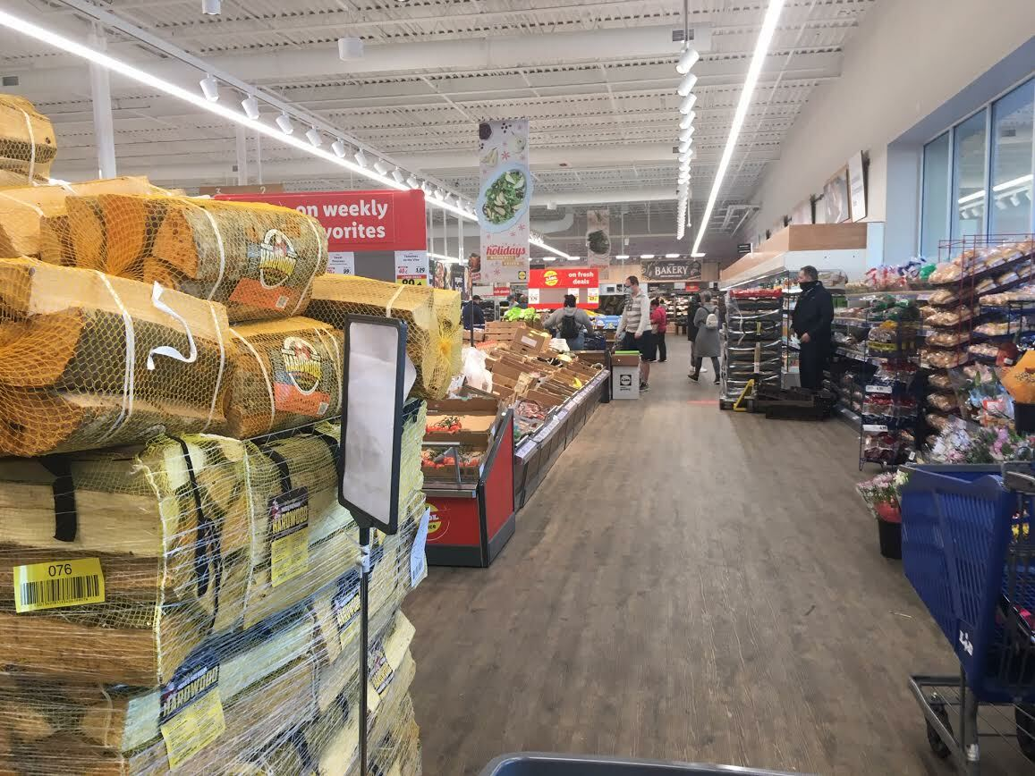 With a layout model mirroring aldi's, Lidl's Center Moriches store packs aisles with an array of not necessarily-related goods. KITTY MERRILL