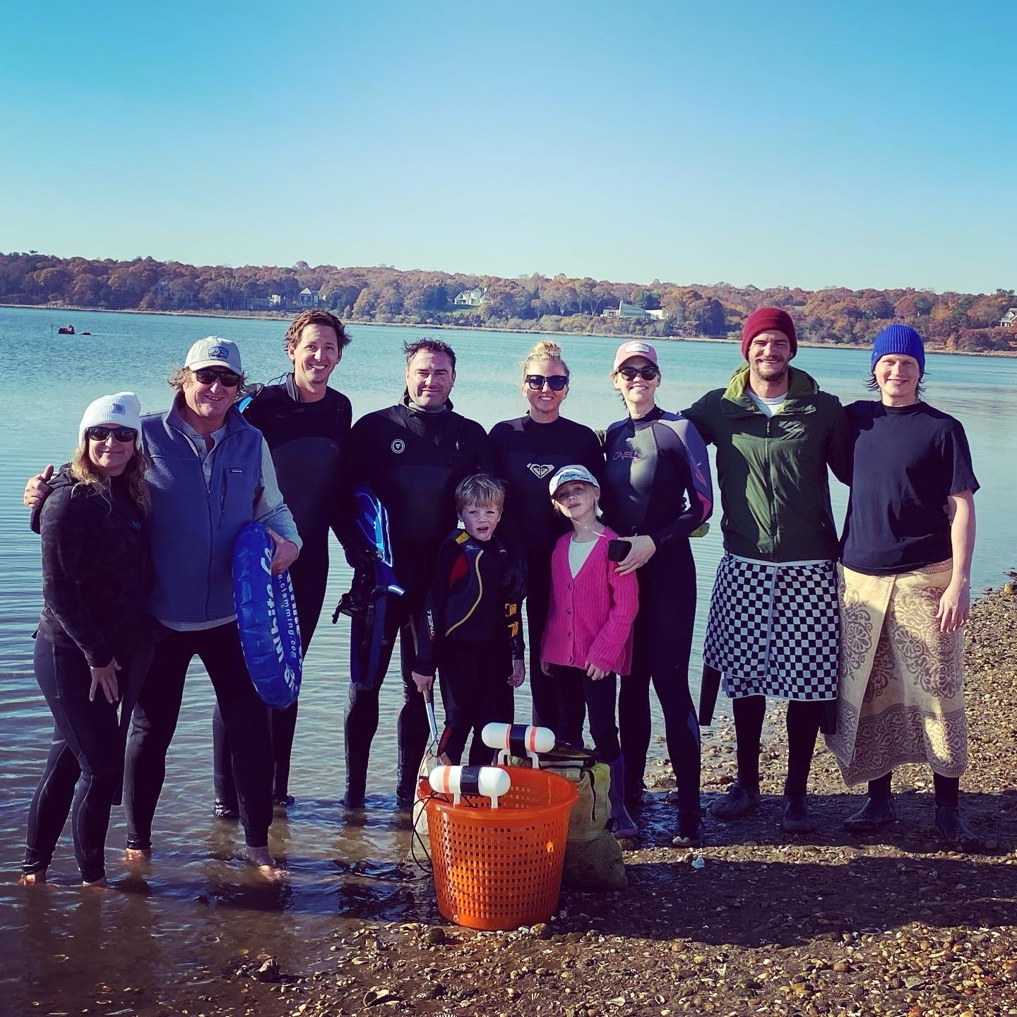 Scallopers descened on Three Mile Harbor in East Hampton on Sunday in hopes of collecting bushel baskets full of bay scallops but found precious few of the valuable shellfish.