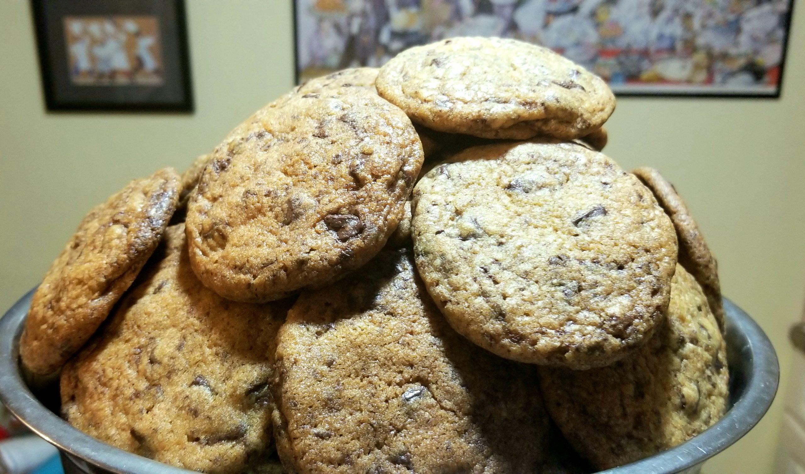 Jessica Craig's chocolate chunk cookies.