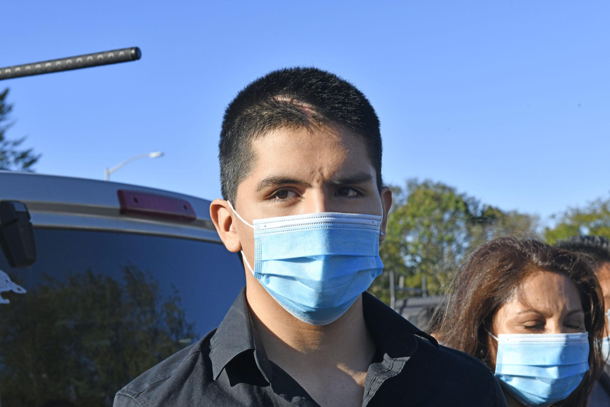 David Peralta-Mera at a preliminary hearing in October.  DANA SHAW