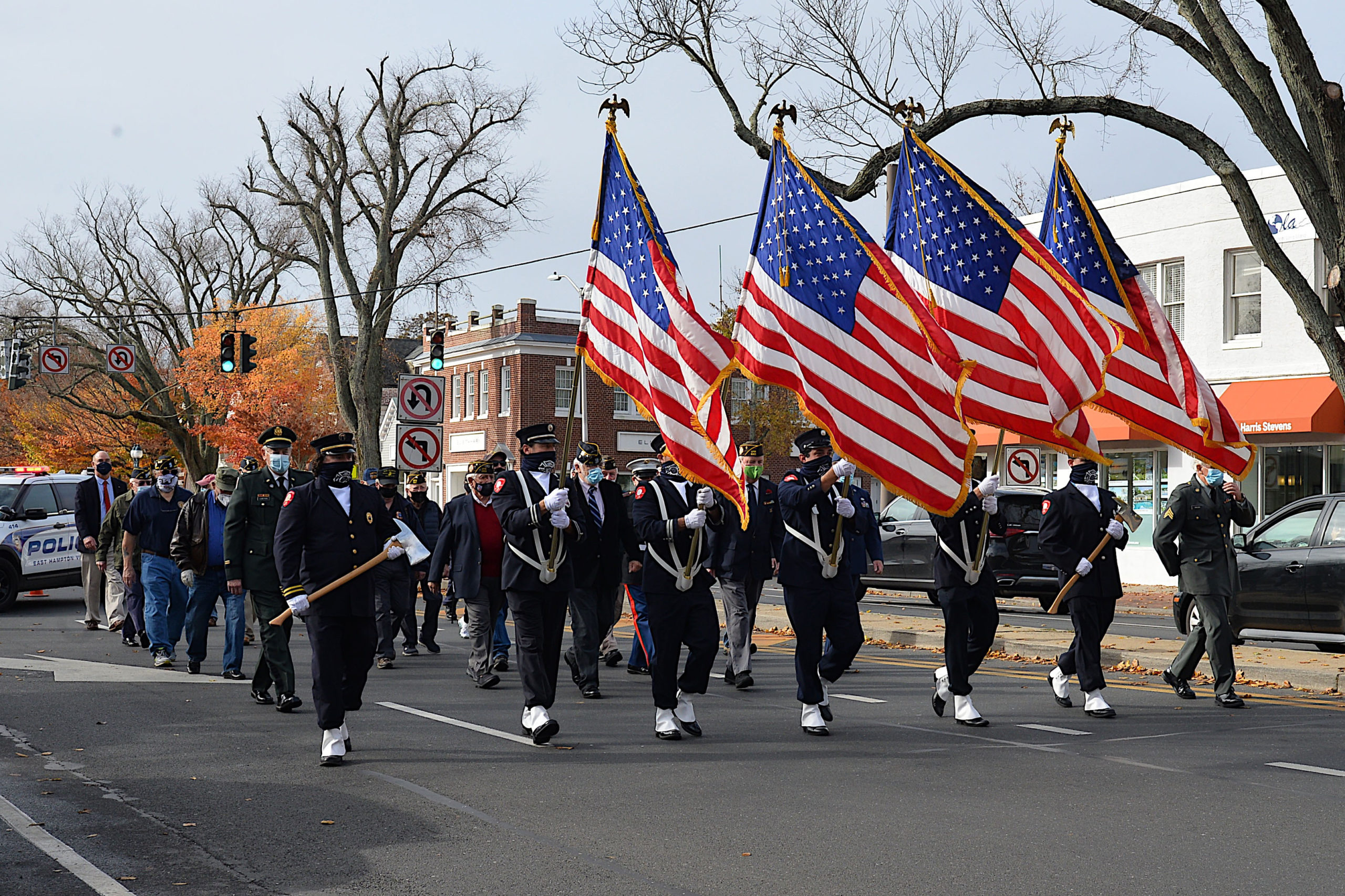 Veterans Day in East Hampton.
