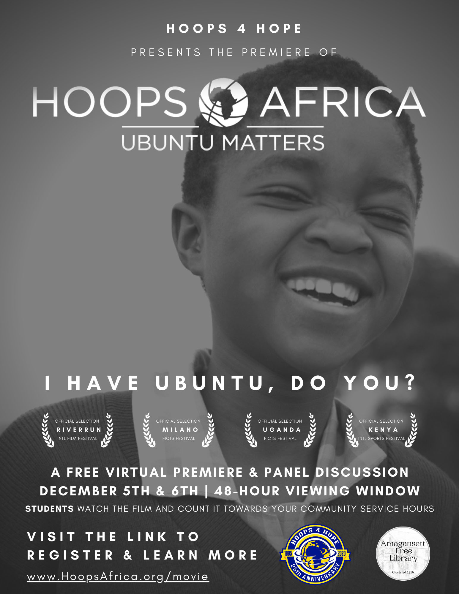 """""""Hoops Africa: Ubuntu Matters,""""  is the collaboration between filmmakers Dan Hedges and Taylor Sharpe."""