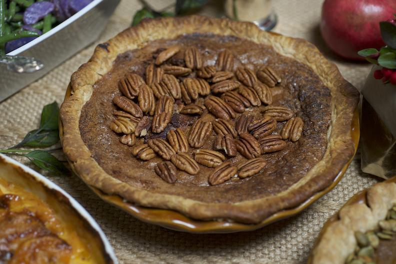 Harbor Market's pecan pie.