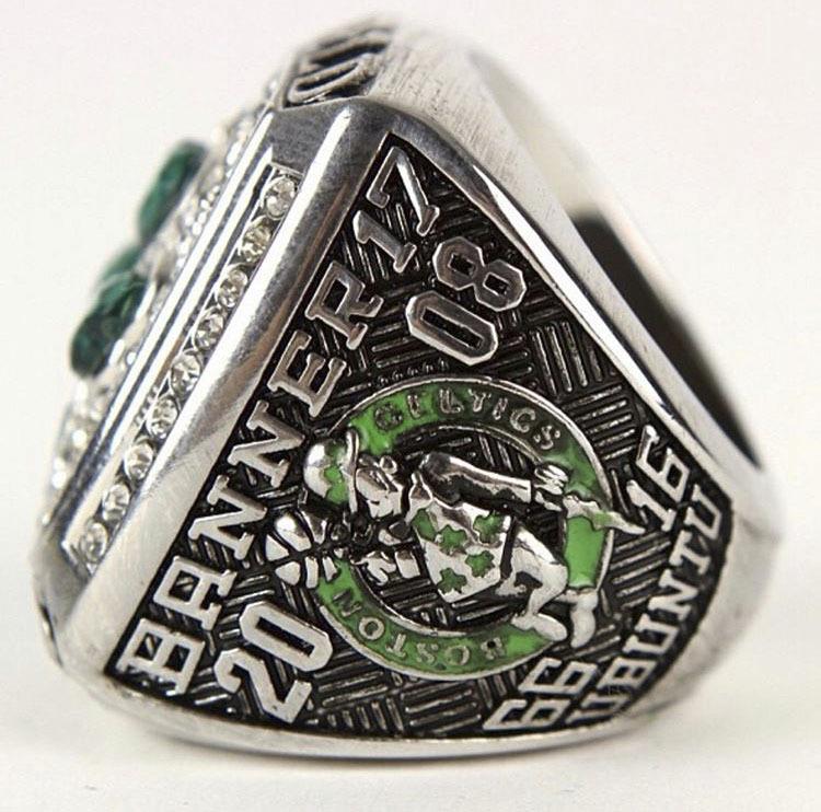 The 2008 Boston Celtics championship ring.