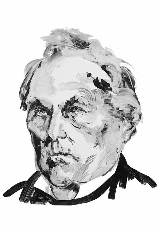 Author James Fenimore Cooper. Portrait by Eric Fischl.