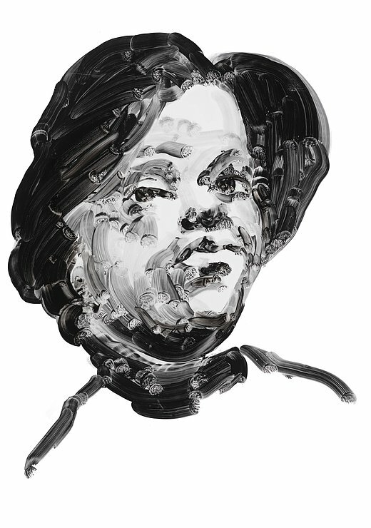 Poet and dramatist Olivia Ward Bush-Banks. Portrait by Eric Fischl.