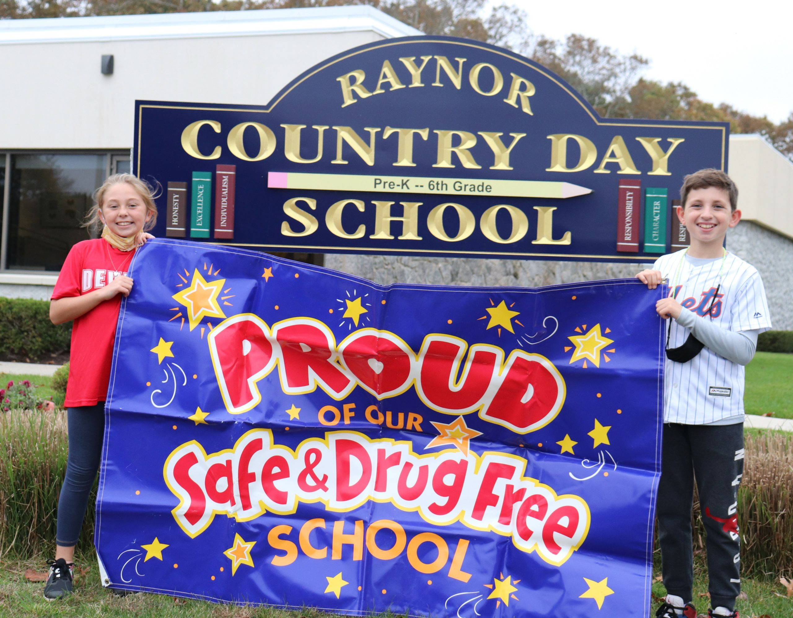 Students at Raynor Country Day School celebrated Red Ribbon Week with a series of spirit days.