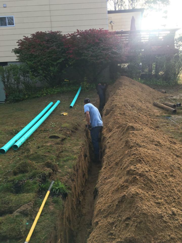 Old sewage lines may fail and need to be replaced.