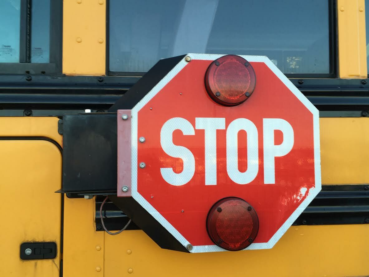 Suffolk County is contemplating placing cameras on school busses to deter  motorists from passing them when they're stopped. KITTY MERRILL