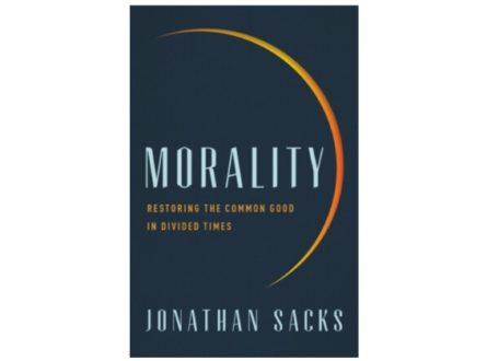 "VIRTUAL BOOK CLUB: ""MORALITY"" by Rabbi Jonathan Sacks ( Part 2)"