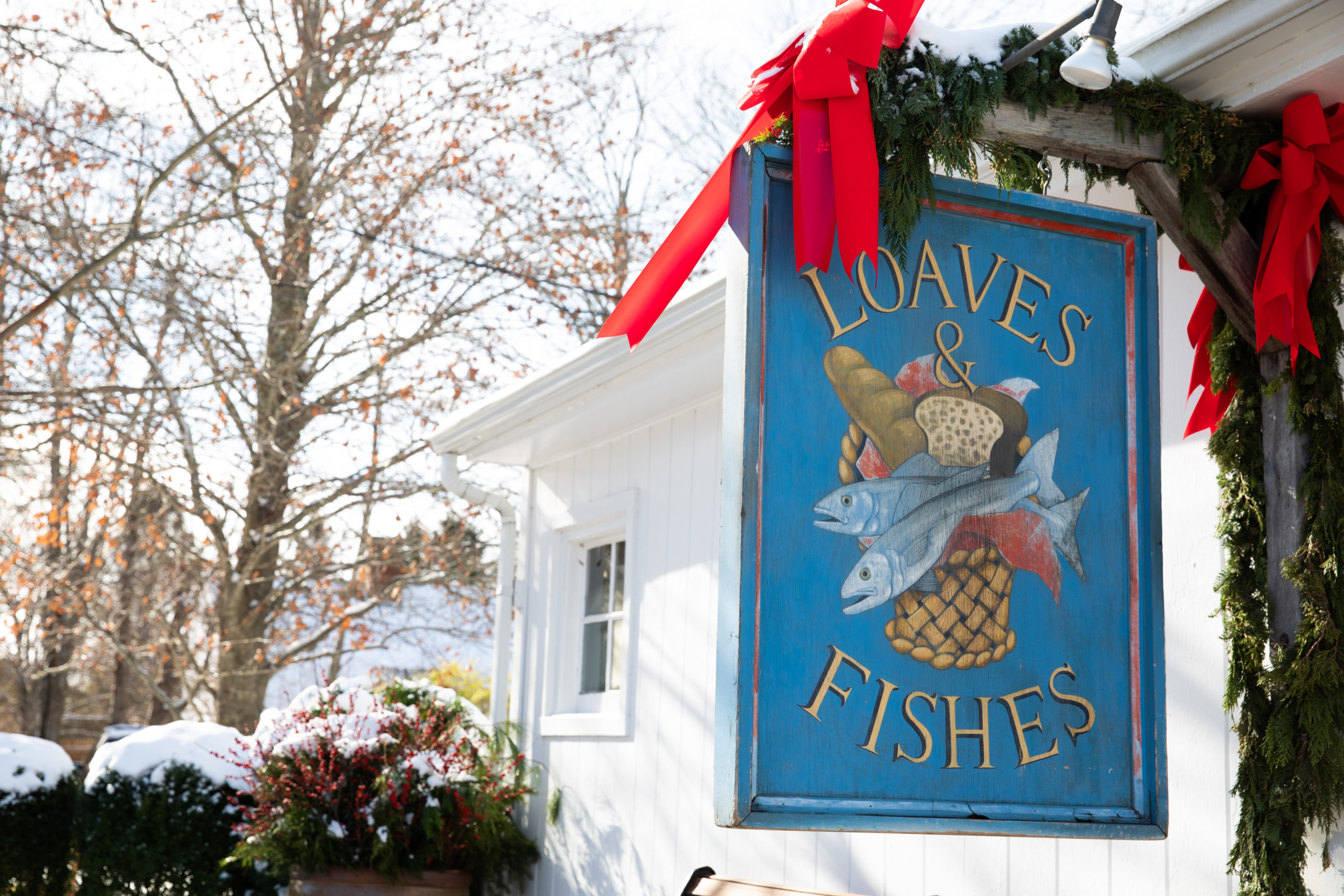 Loaves & Fishes in Sagaponack.