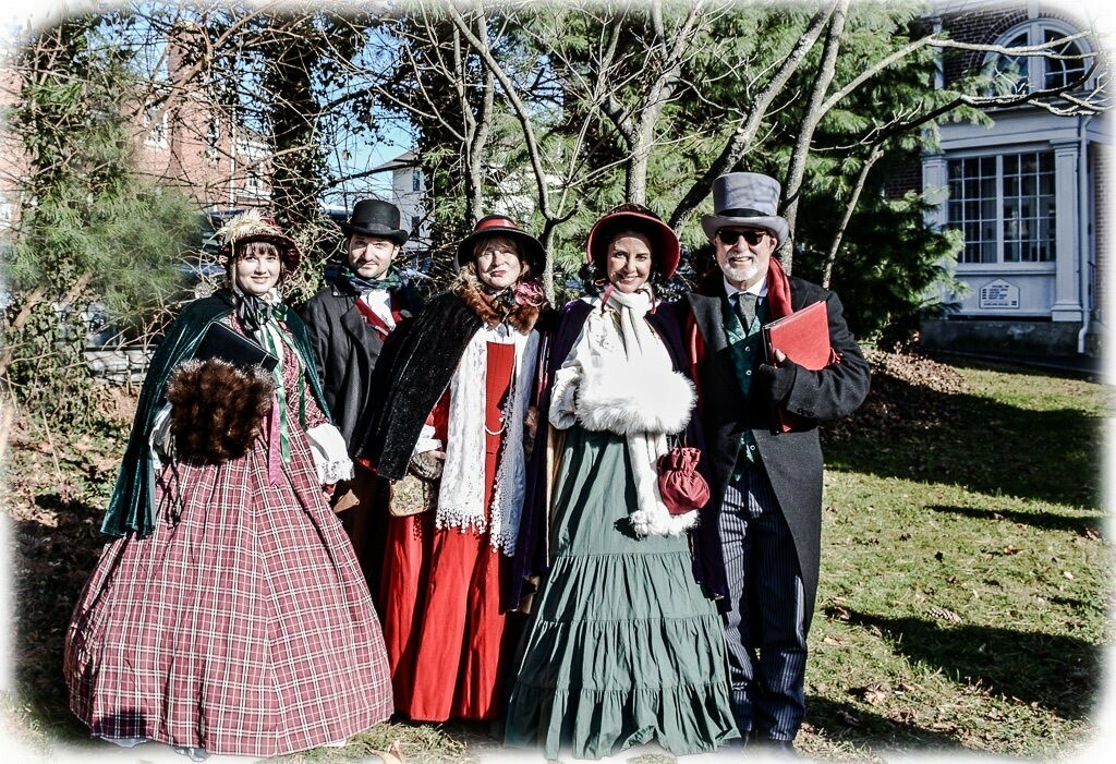 The Dickens Carolers in a previous year.