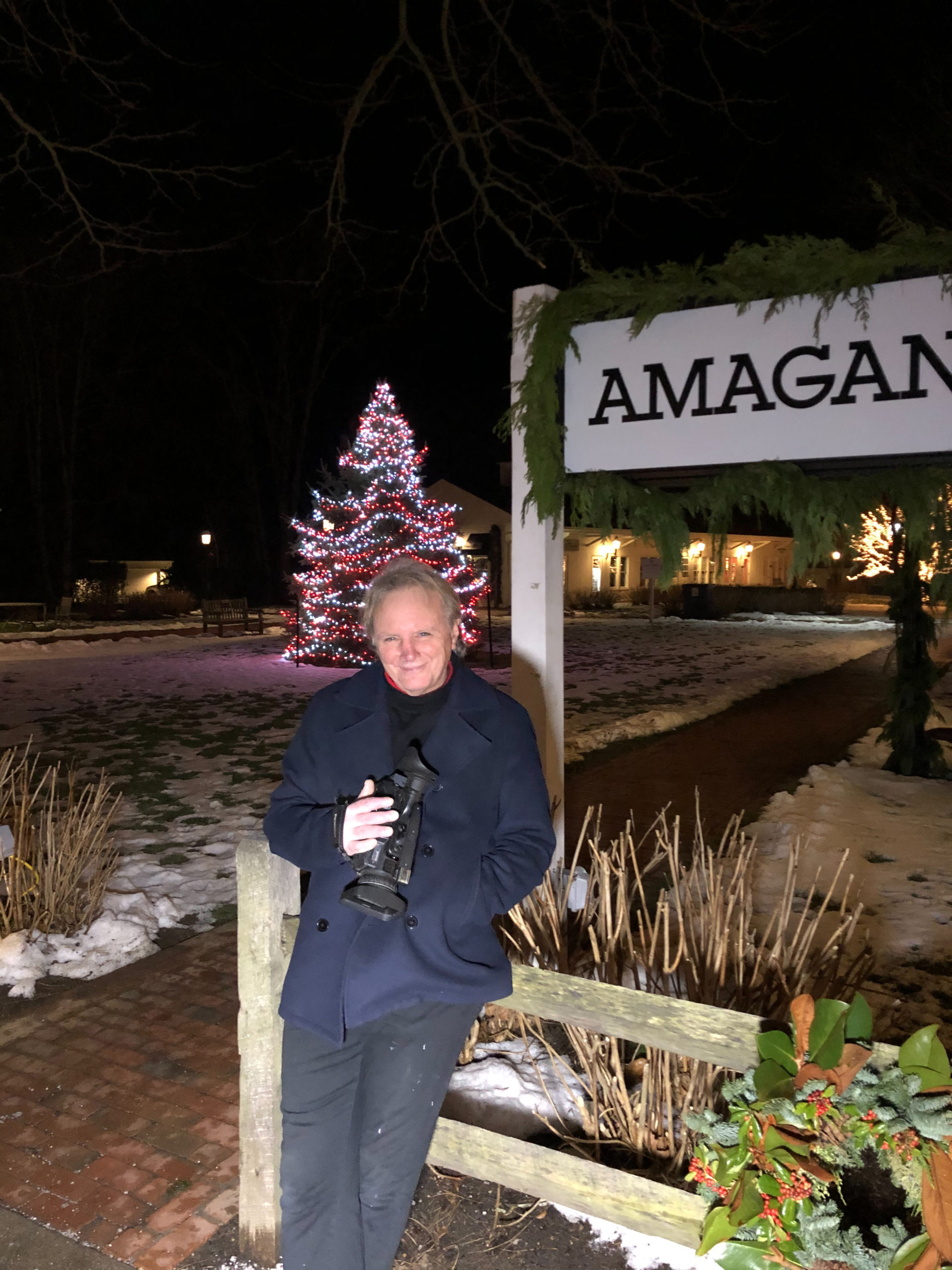 """East Hampton resident Frank Vespe recently released  his local holiday carol, """"Another East End Christmas."""" ELIZABETH VESPE"""