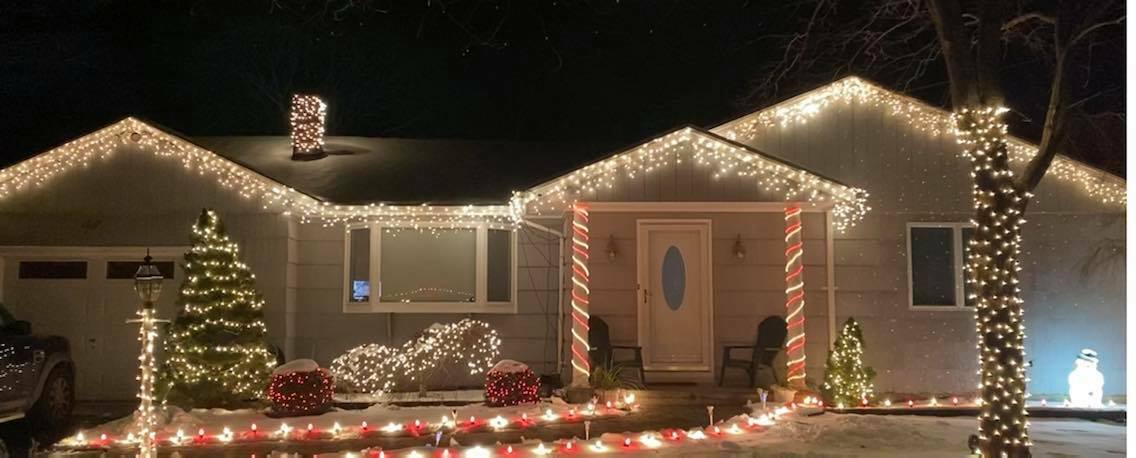 Martin Orduna, Lou Messina and Debbi Gordon Joslin were the top three vote-getters in the first annual Hampton Bays Christmas Decorating Contest.