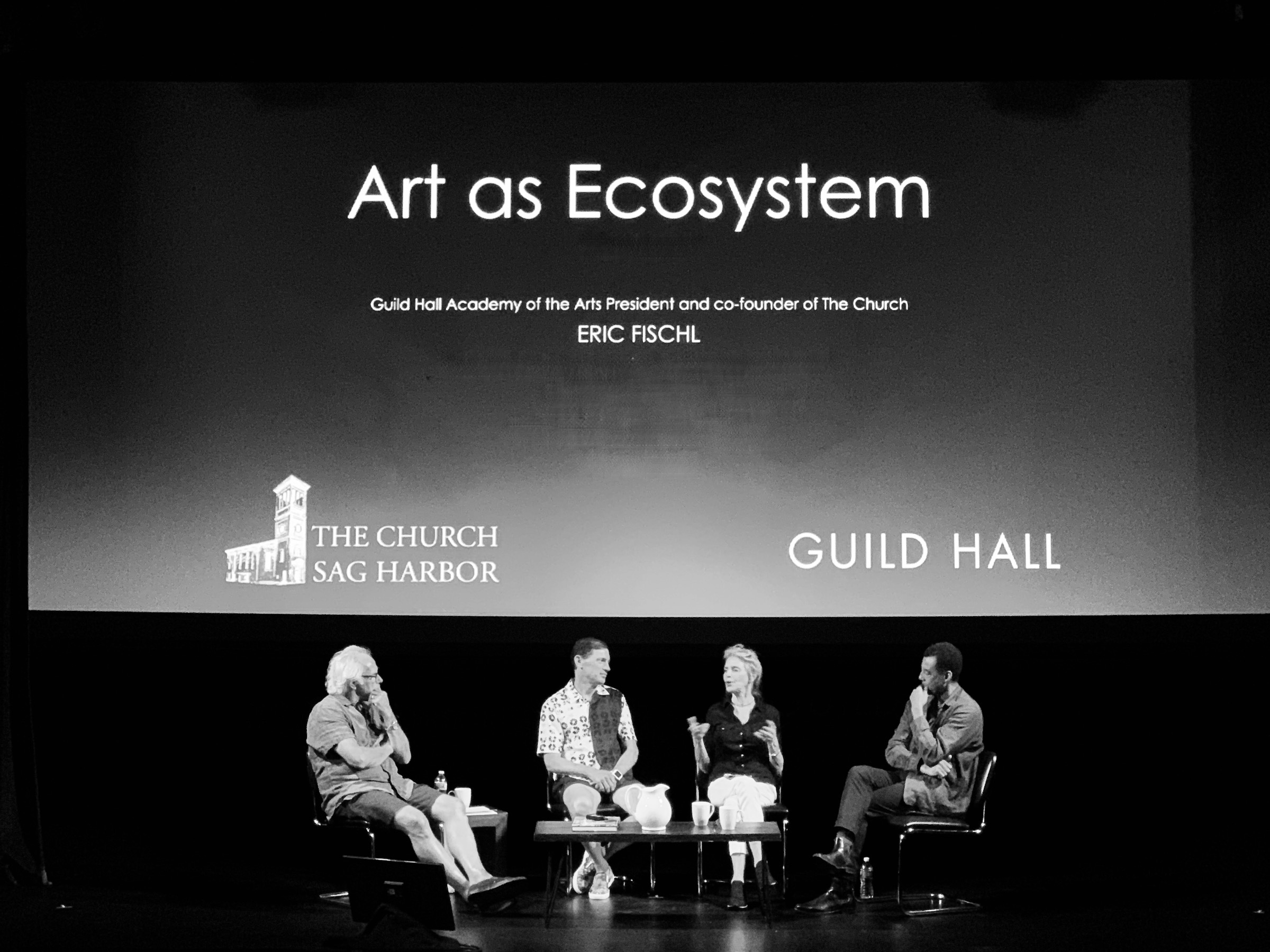 A Zoom Conversation with Eric Fischl (The Church), Stephen Petronio (The Petronio Residency Center) and Emily Simoness (SPACE on Ryder Farm).