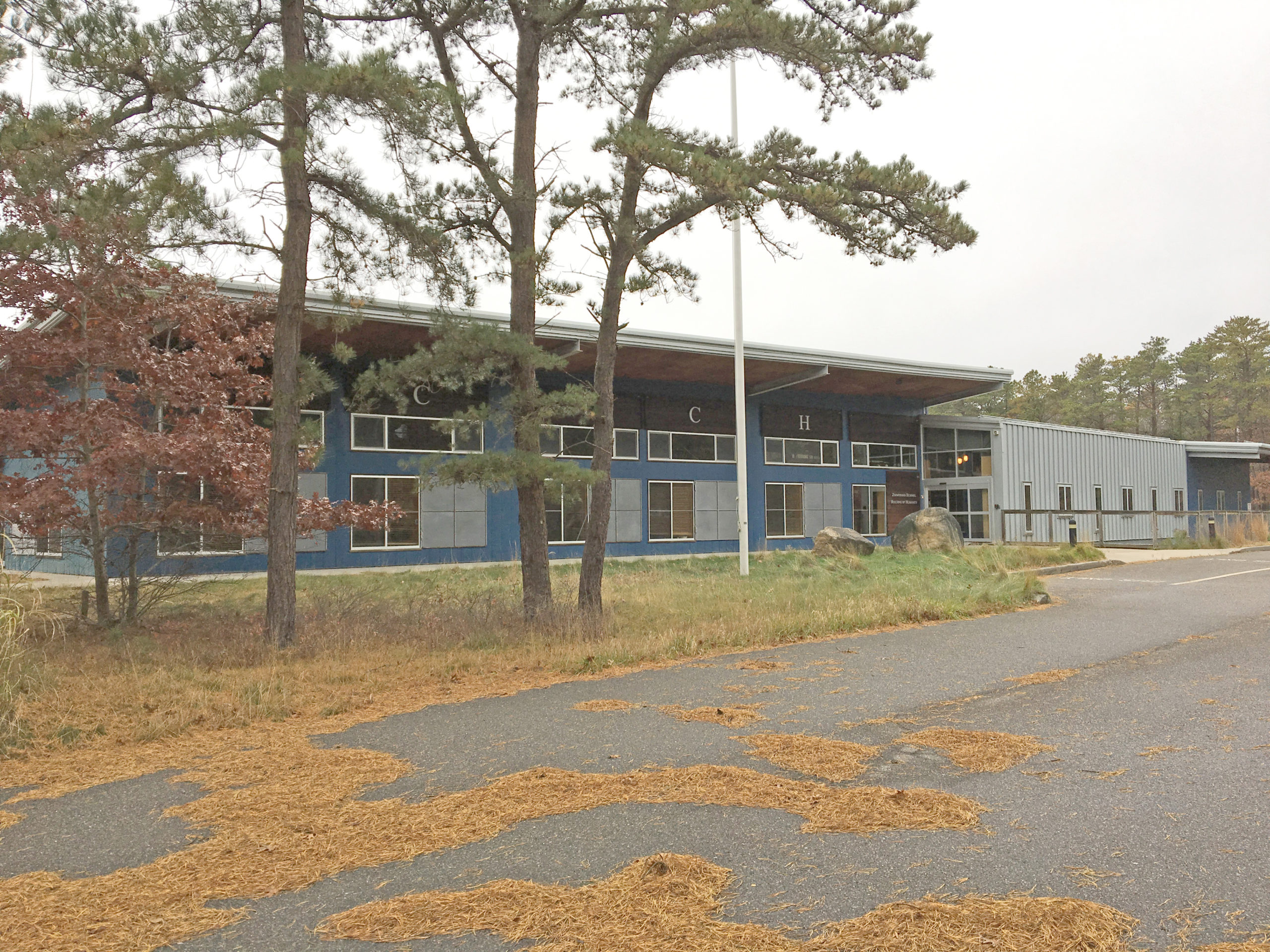 East Hampton Town is preparing the former CDCH building on Stephen Hands Path to be used as a vaccination center in hopes that having the logistics in place will attract a supply of vaccine shots from the state distribution program.