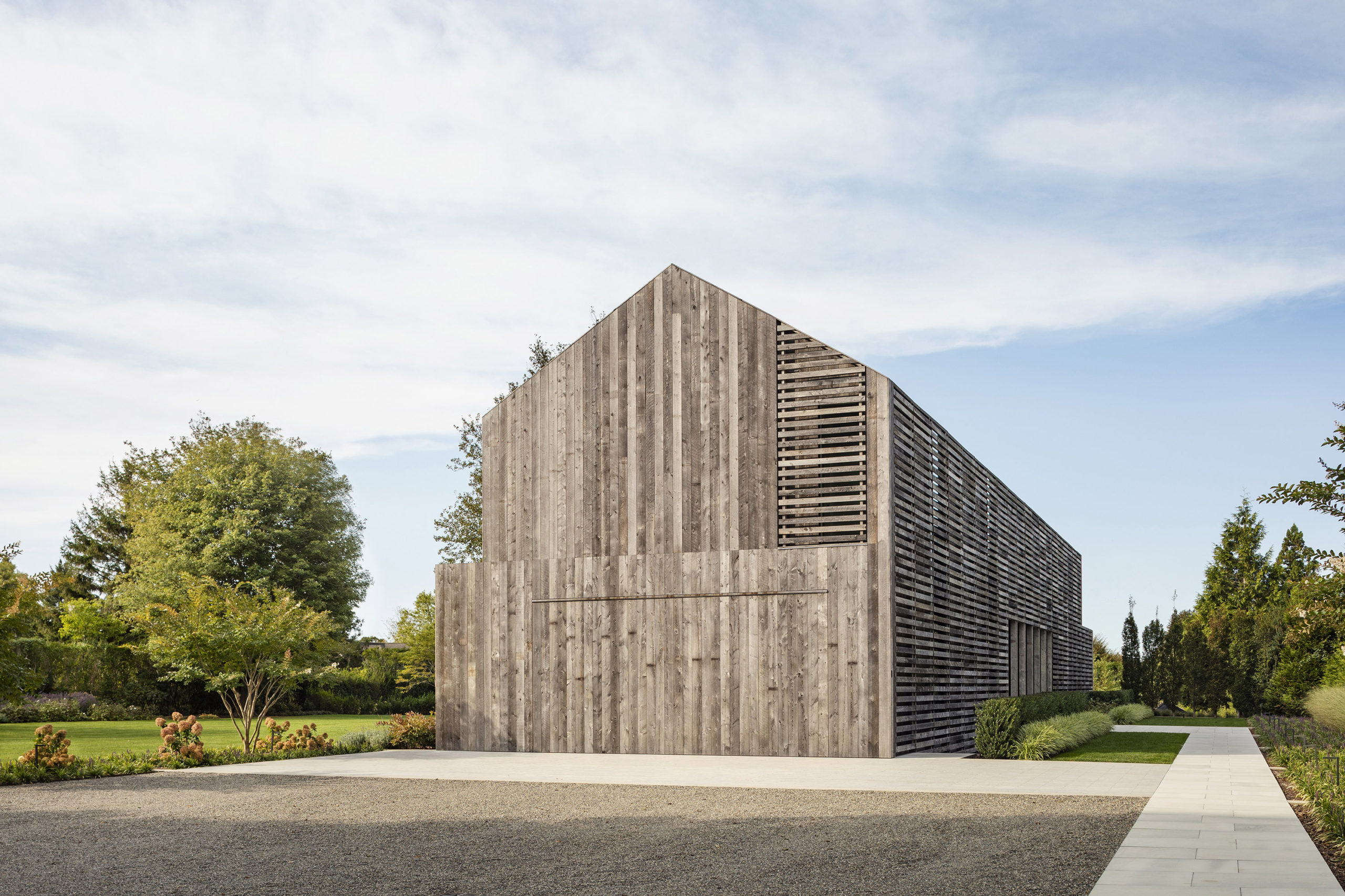 Lathhouse by Birdseye Architecture in Richmond Vermont earned an Honor Award from AIA Peconic.