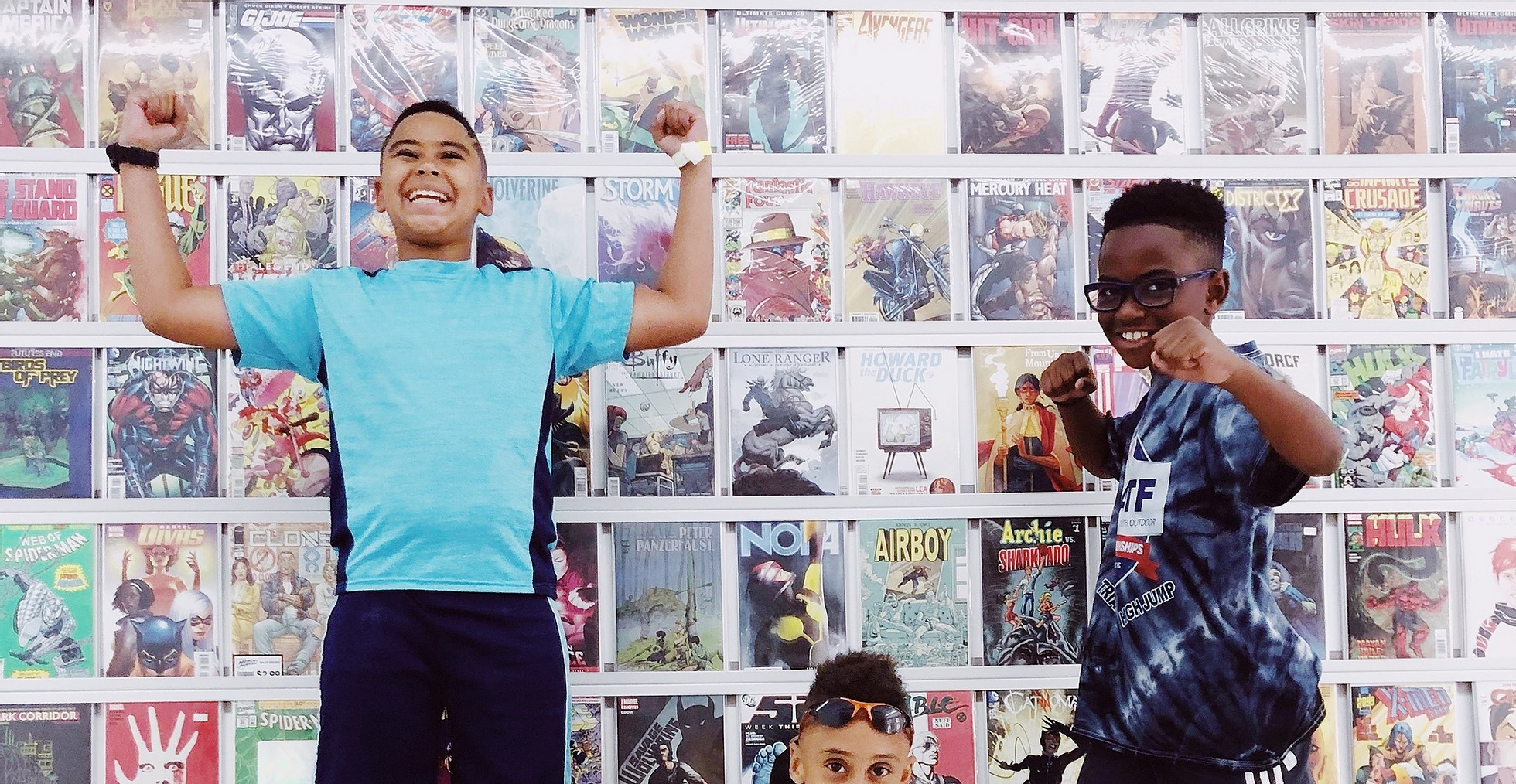 Kids can take part in a workshop with Loot Comics.