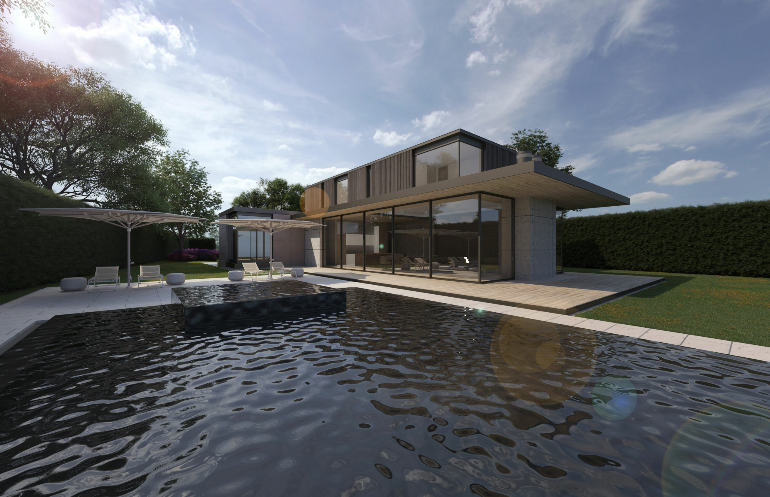 Sean Madigan earned a Merit Award for his design Amagansett House in the emerging architects category.