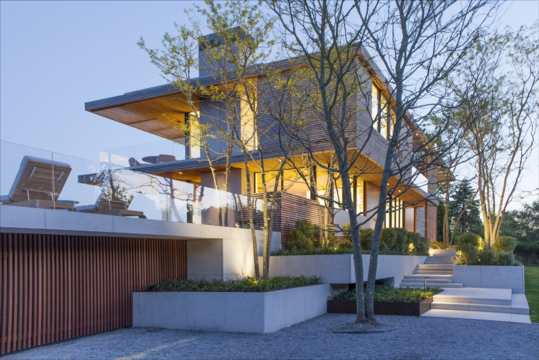 Stelle Lomont Rouhani Architects earned a Merit Award for Pond View House.