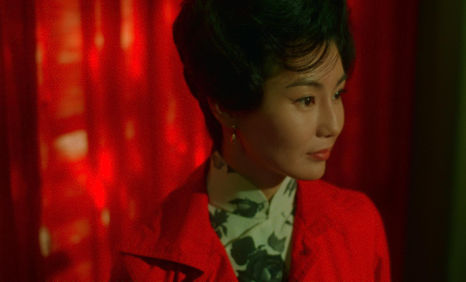Still image from Wong Kar-Wai film.