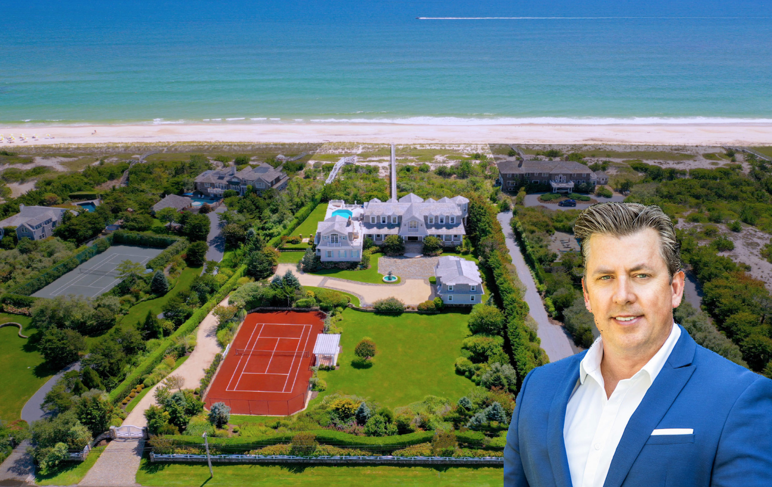 Robert Canberg recently sold 124 Dune Road in Quogue for $22.5 million.
