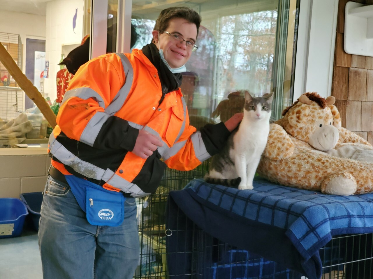 Gregory Ficara is the Southampton Animal Shelter Foundation Volunteer of the Month for December.