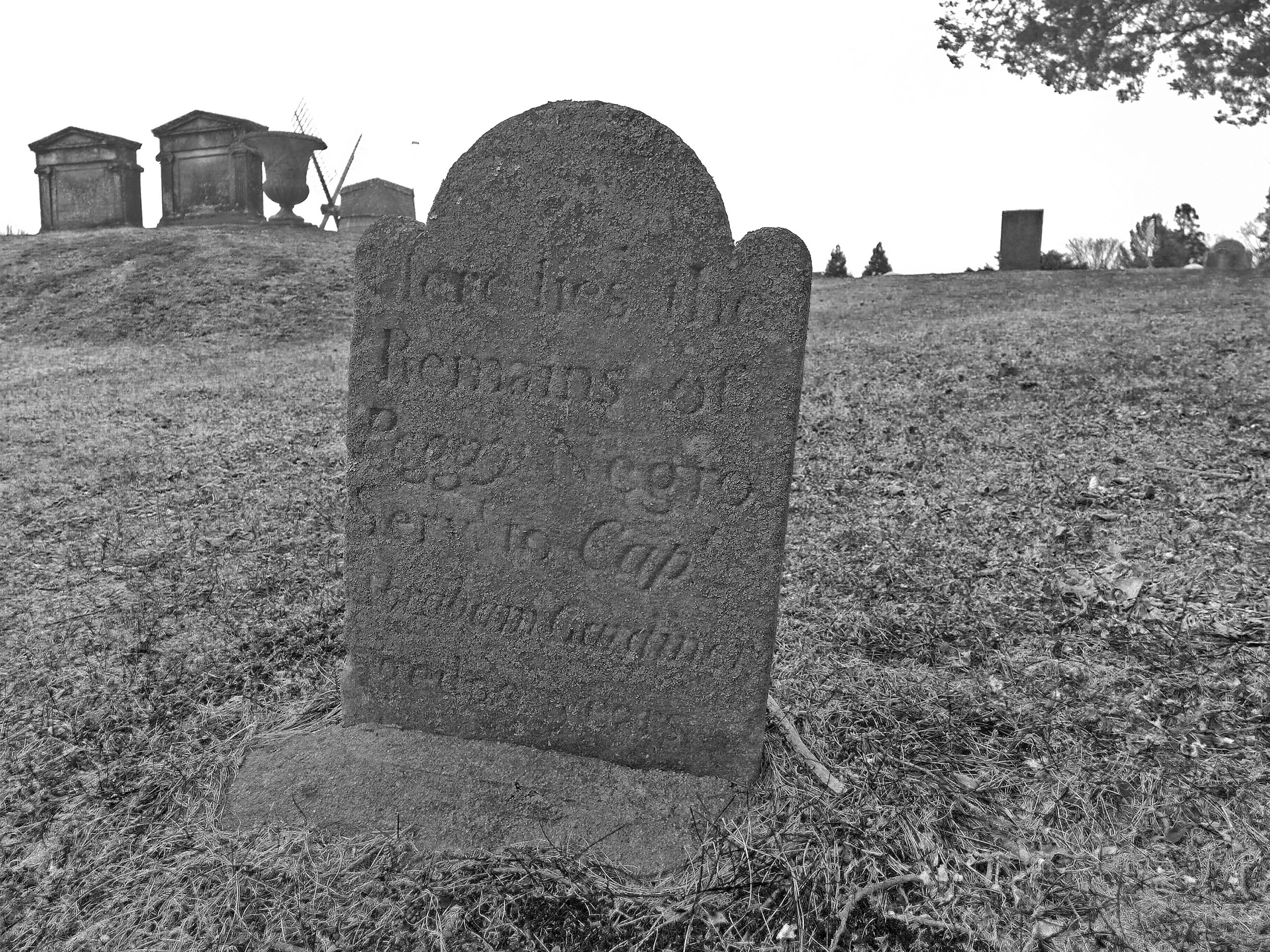Peggy is one of only two to have the only known headstones for people who had been enslaved in the Town of East Hampton, out of hundreds who we now know lived here.                                            Courtesy Plain Sight Project