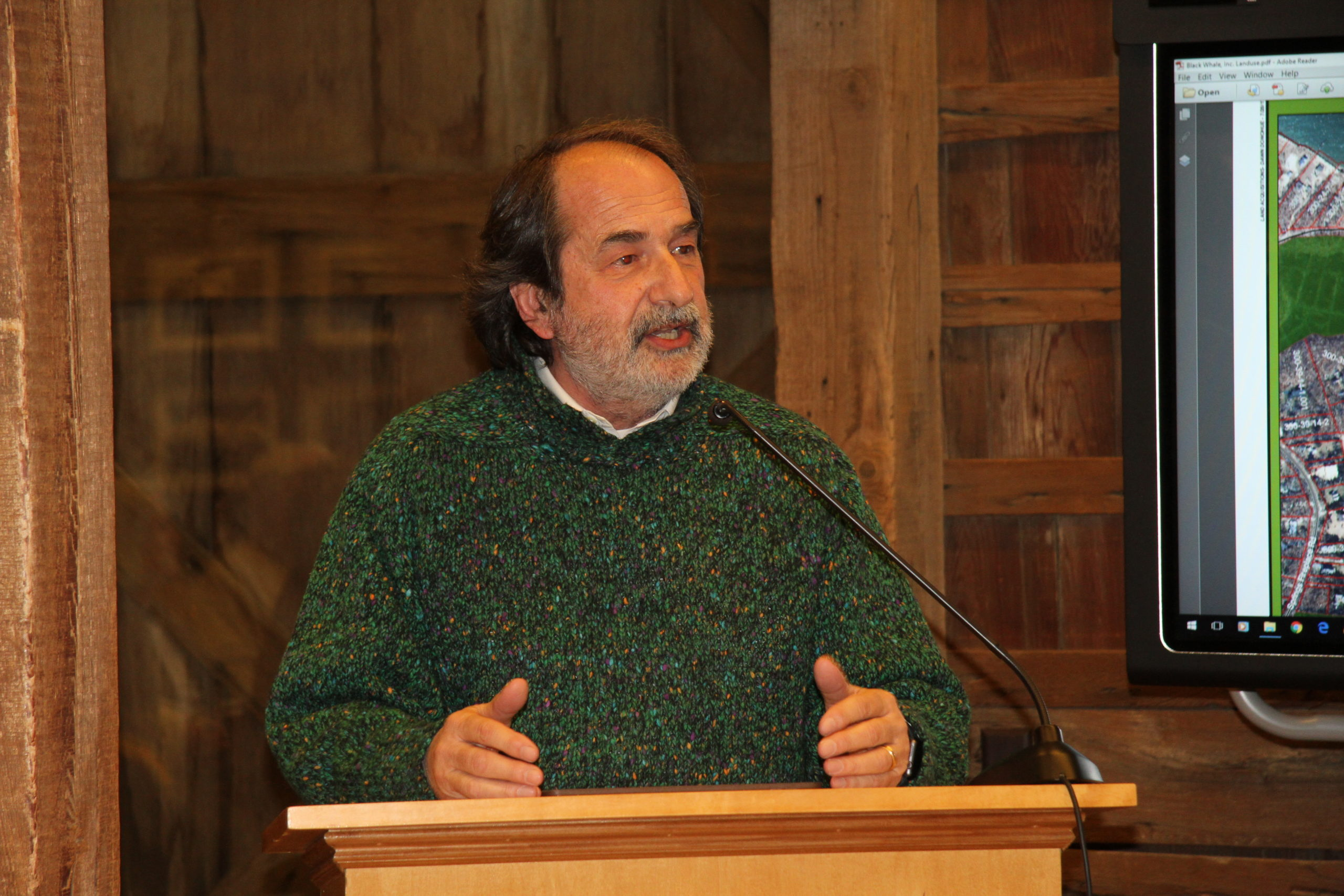 Robert Strada, founder of Peconic Historic Preservation.
