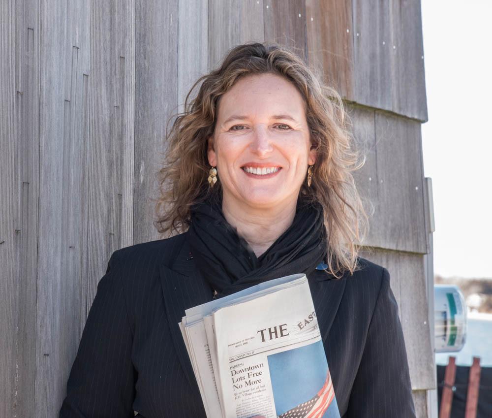 Carissa Katz, managing editor of The East Hampton Star