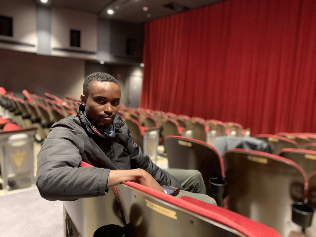 Thierry Bahiluta is settling into his new job at the Sag Harbor Cinema.