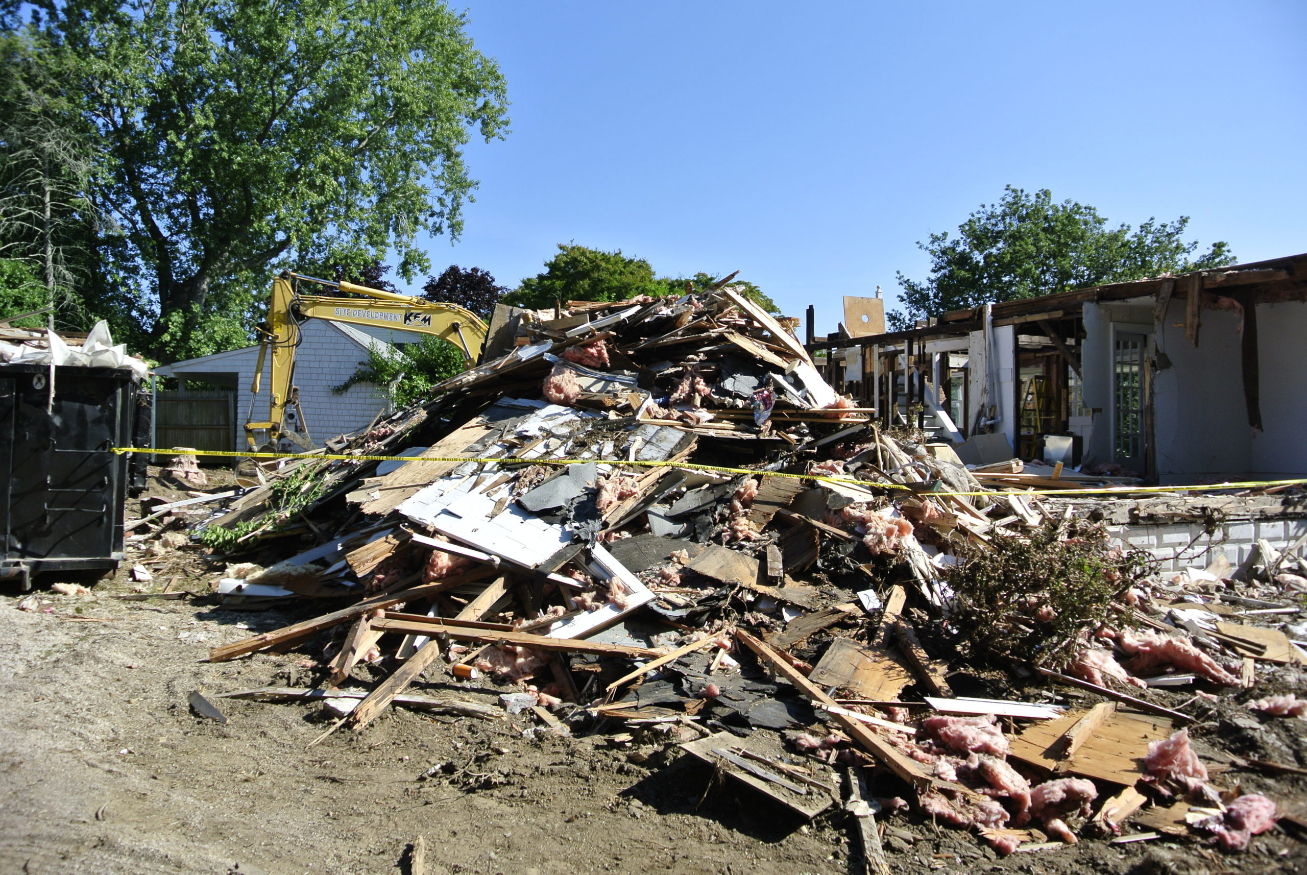 The Pyrrhus Concer house was demolished in August of 2014.     DANA SHAW