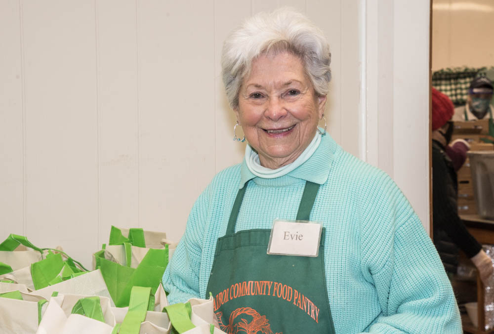 Evelyn Ramunno, executive director of the Sag Harbor Community Pantry