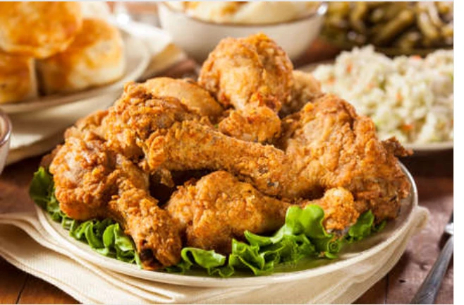 Art Of Eating's fried chicken.
