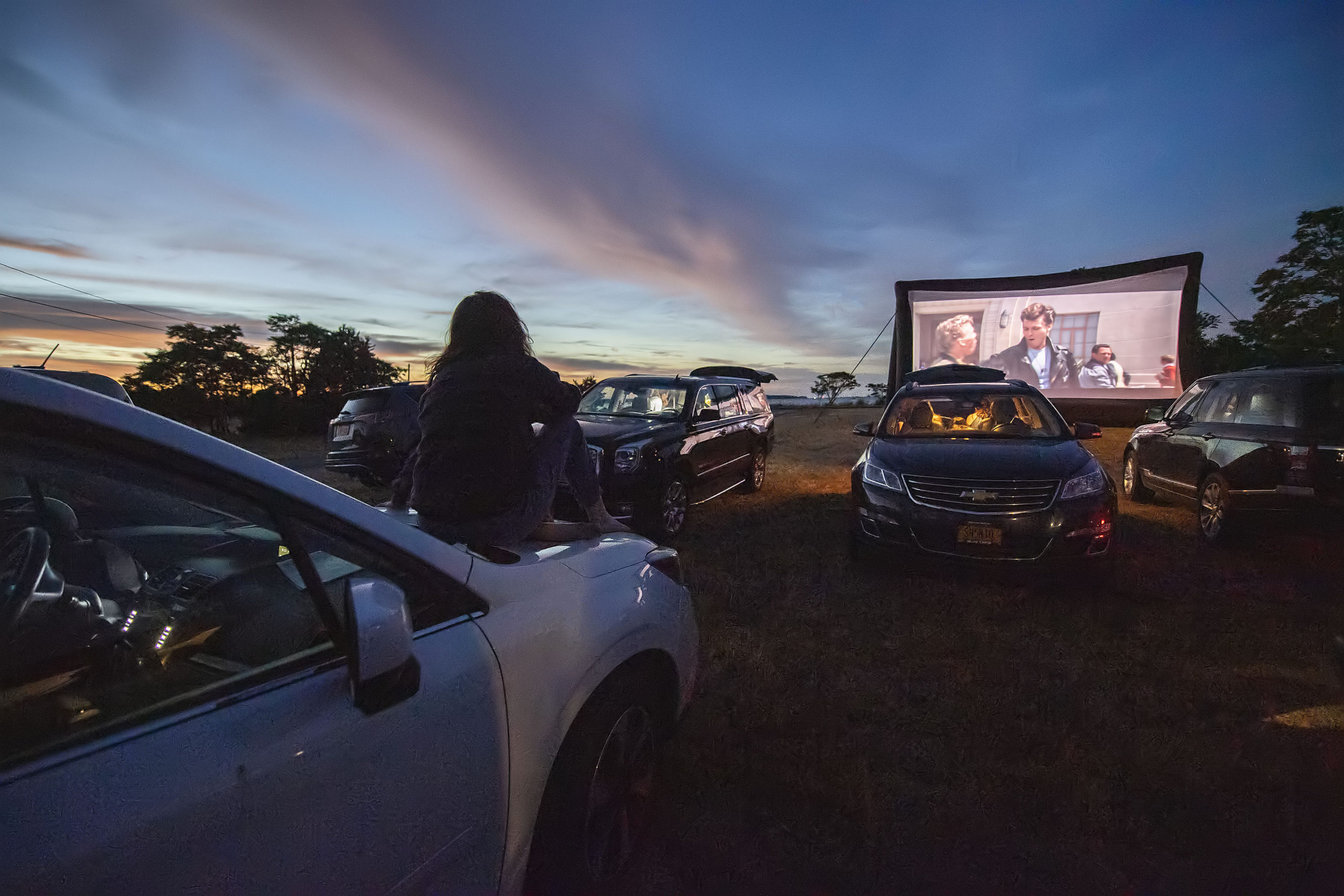 The Sag Harbor Cinema would like to show films at the beach on Saturday nights from Memorial Day through Columbus Day.     MICHAEL HELLER