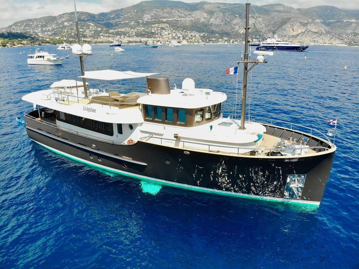 A Hartman Yacht described as a pocket explorer.
