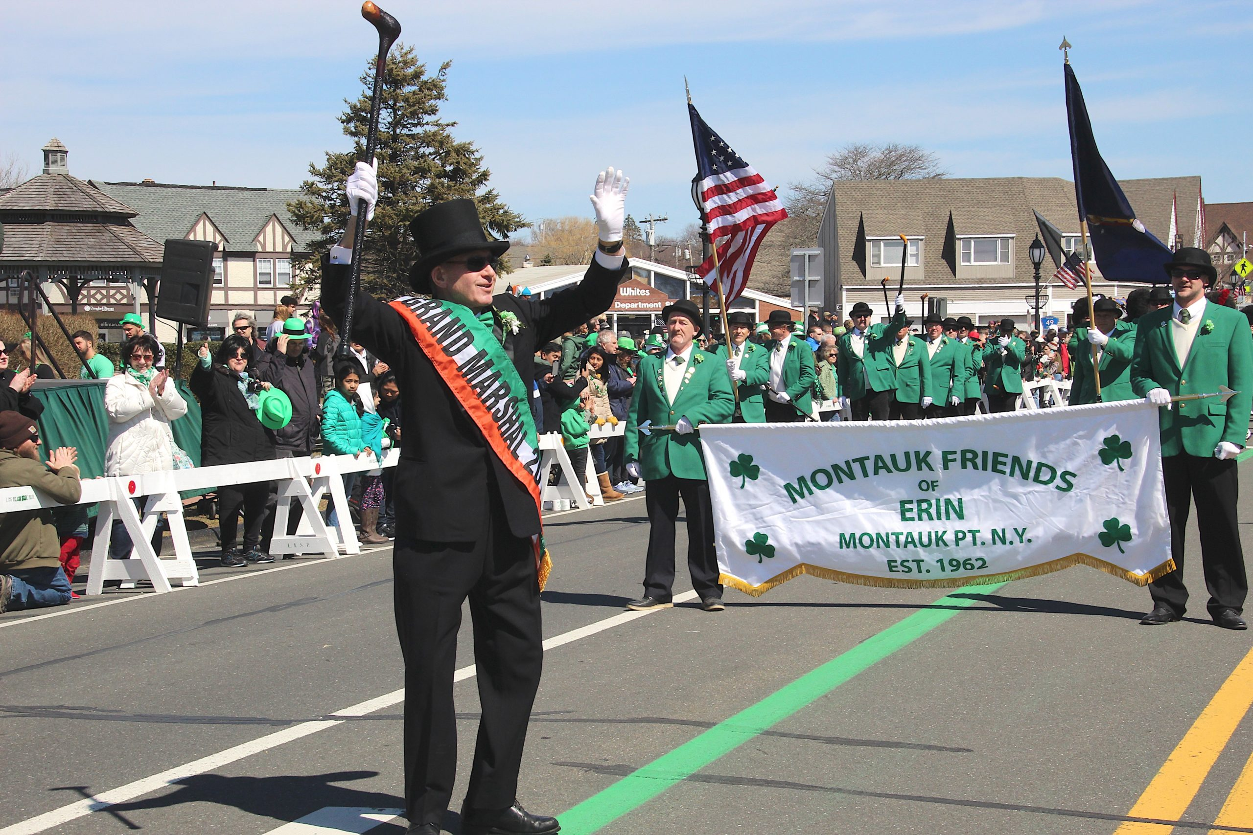 The 2019 Montauk Friends of Erin Parade.  EXPRESS FILE