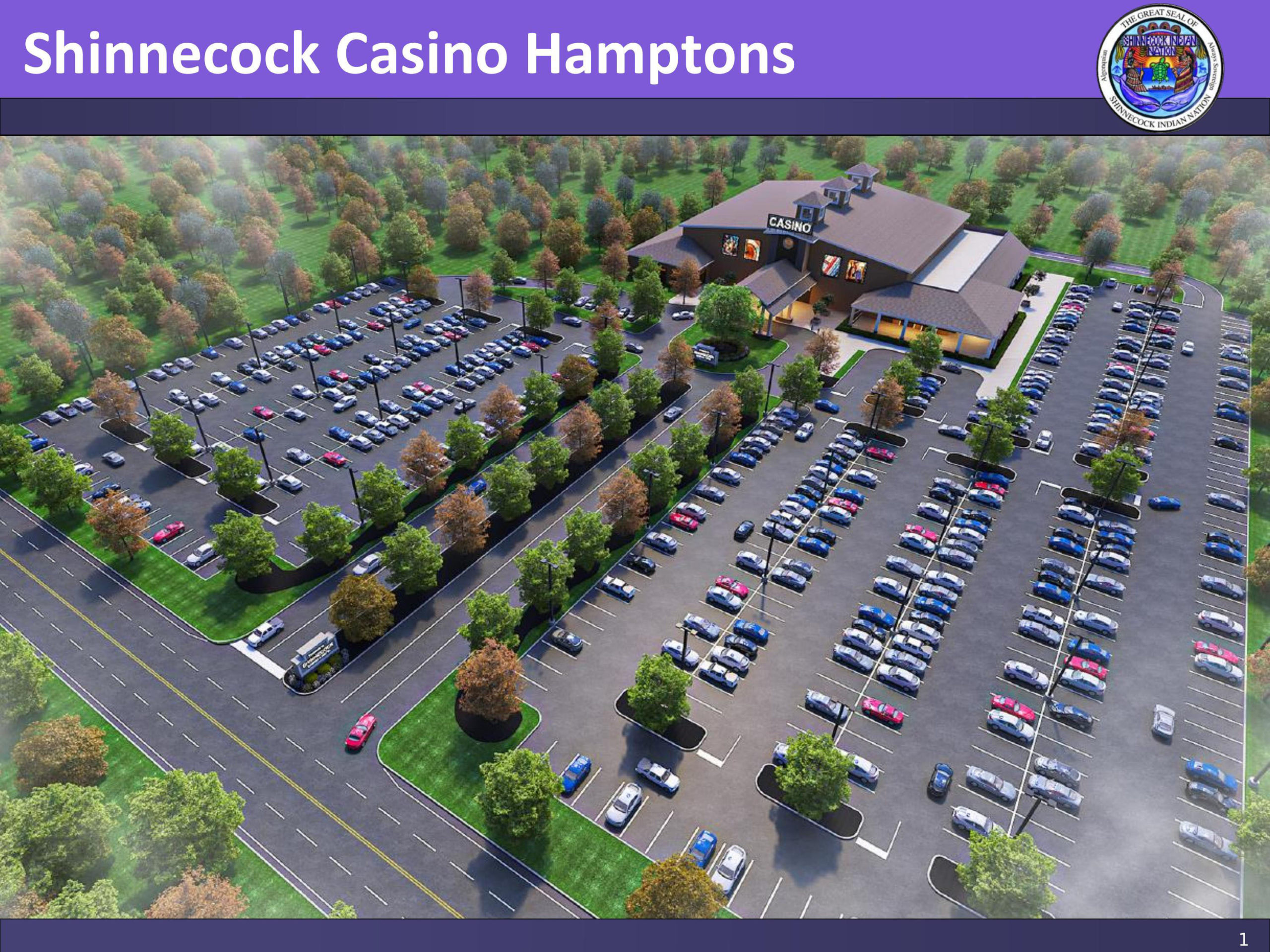 A rendering of the proposed Shinnecock Casino Hamptons. COURTESY Shinnecock Indian NATION