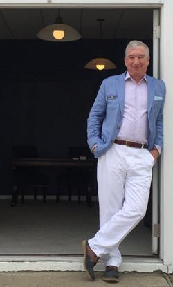 Dave Mallach of The Fog Warning yacht dealership in Westhampton Beach