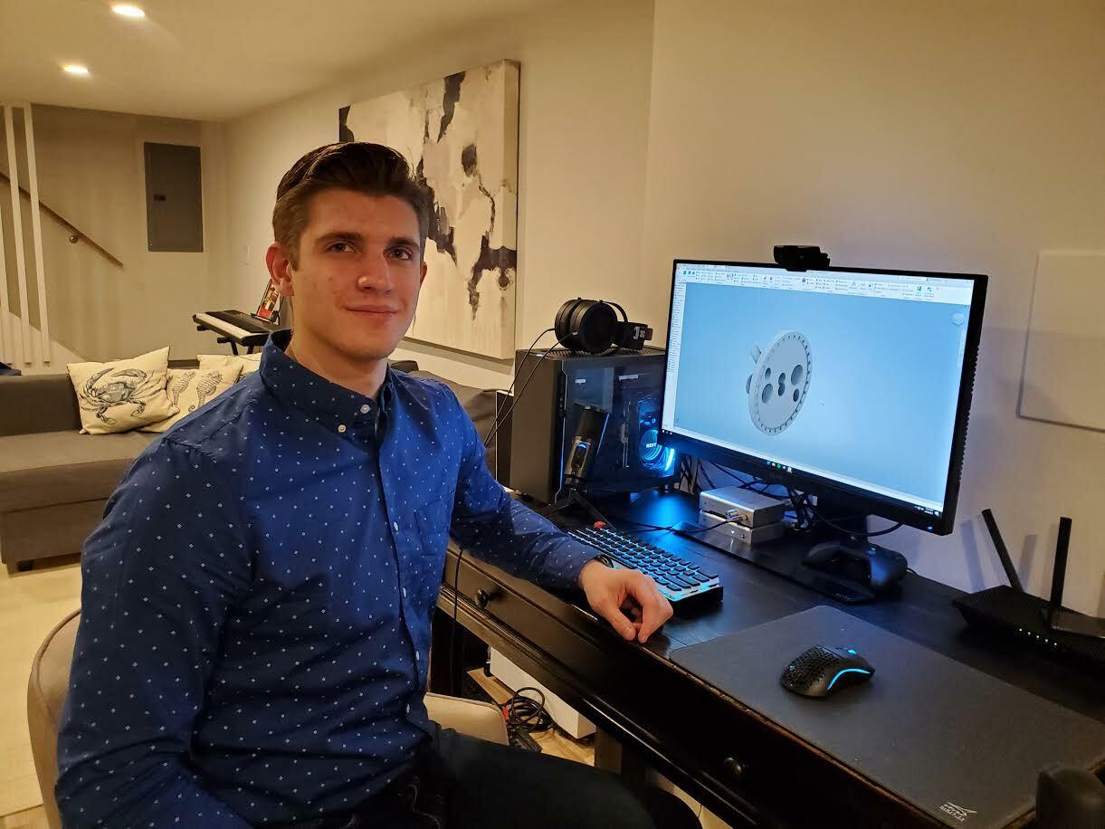 Danielius Krivickas has won a prestigious internship.