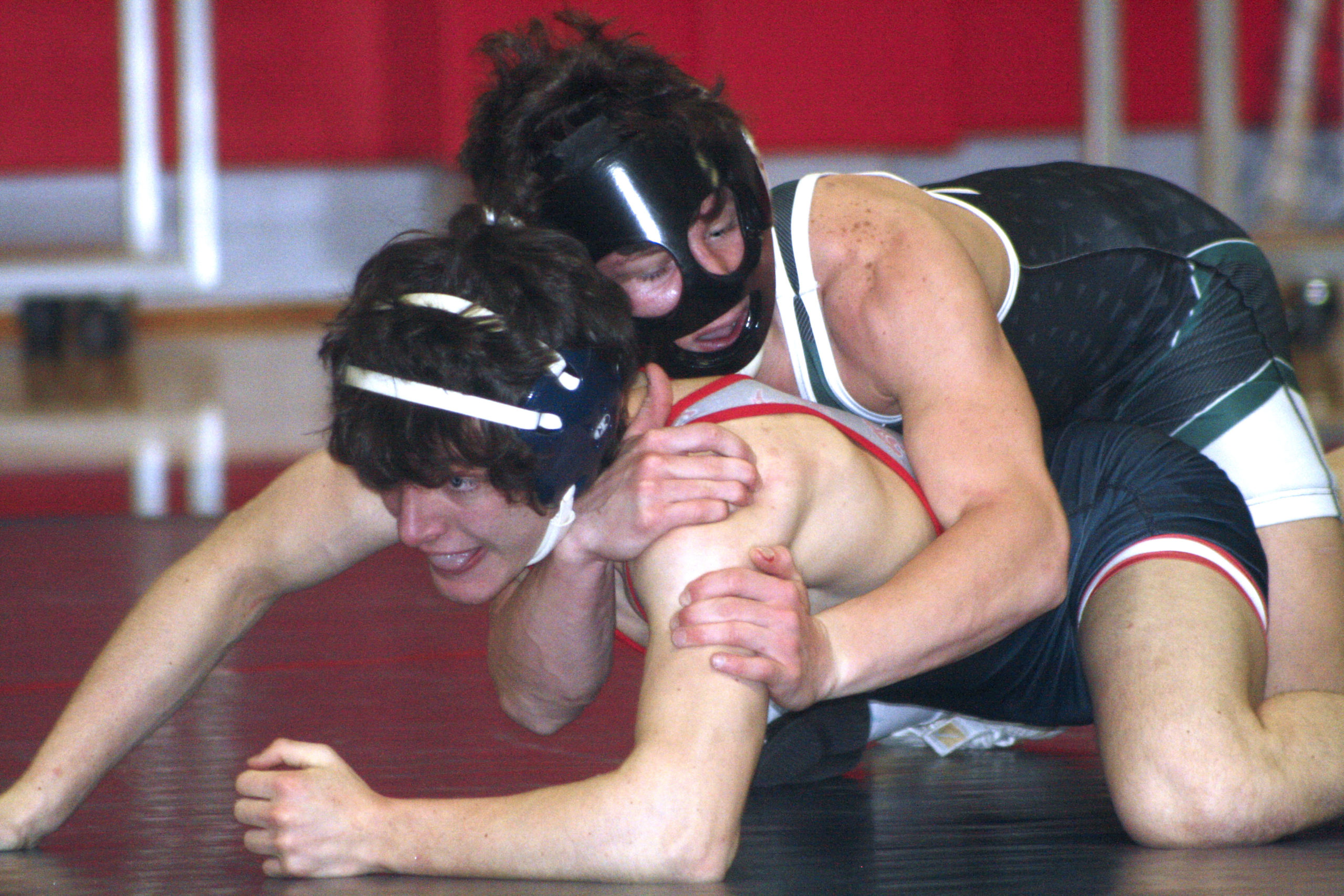 Luke Citarelli started the match off with an 11-3 win.  CAILIN RILEY