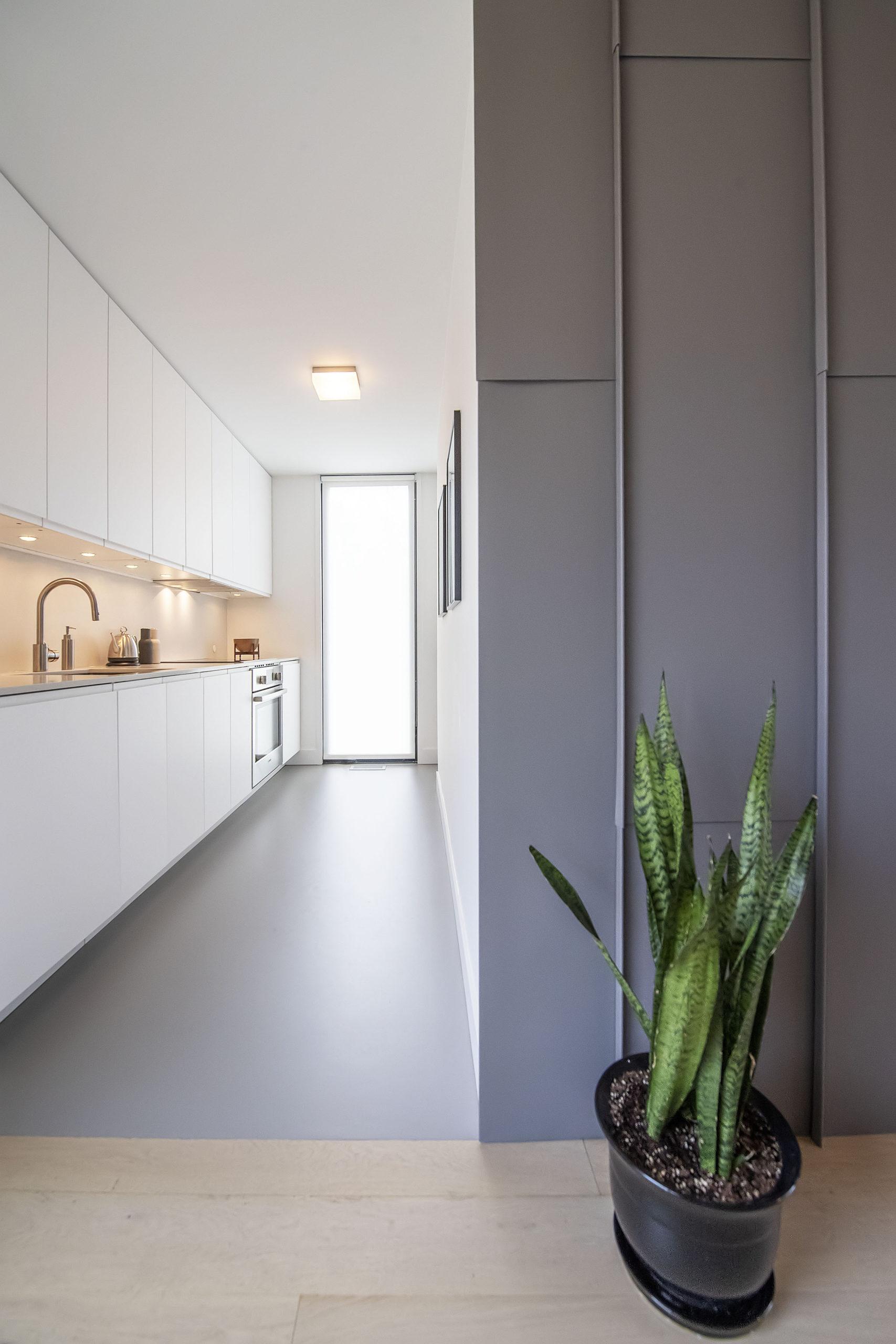 The Milestone kitchen.