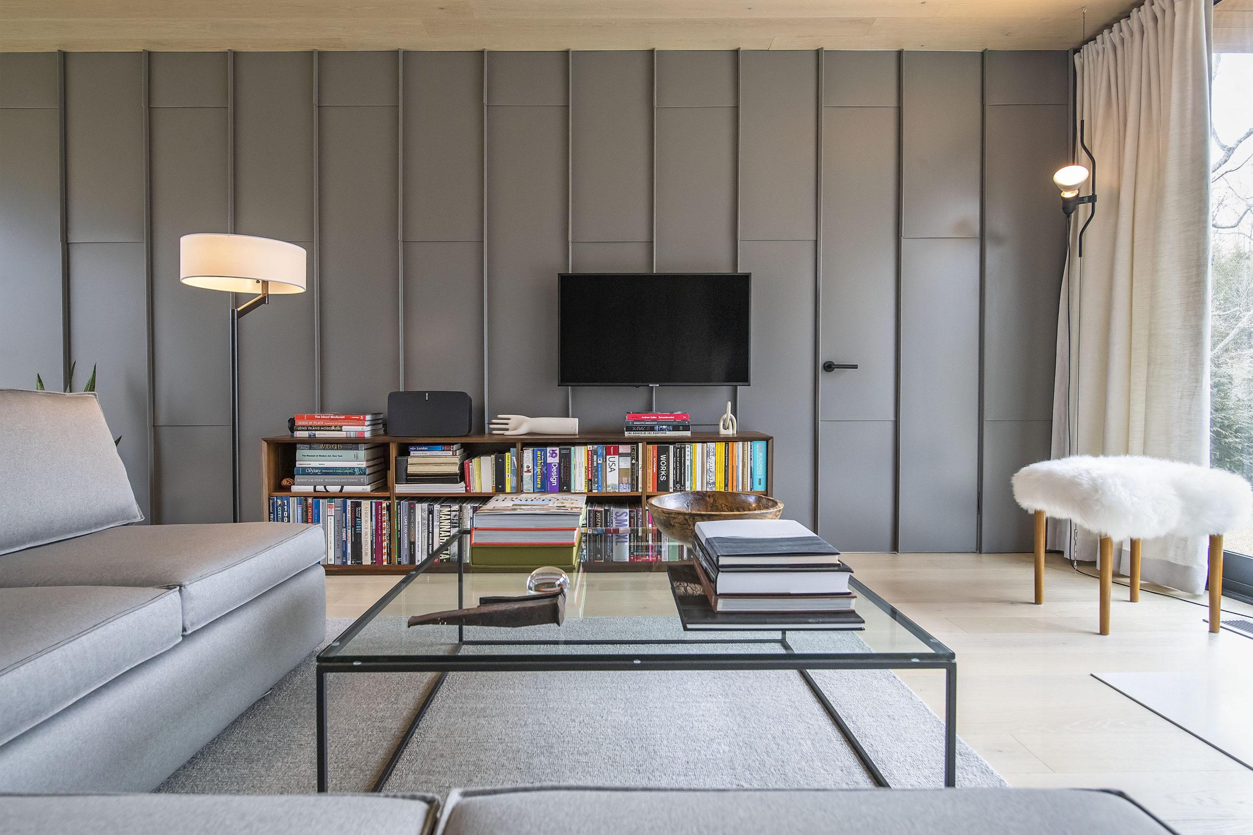 The Milestone living room.