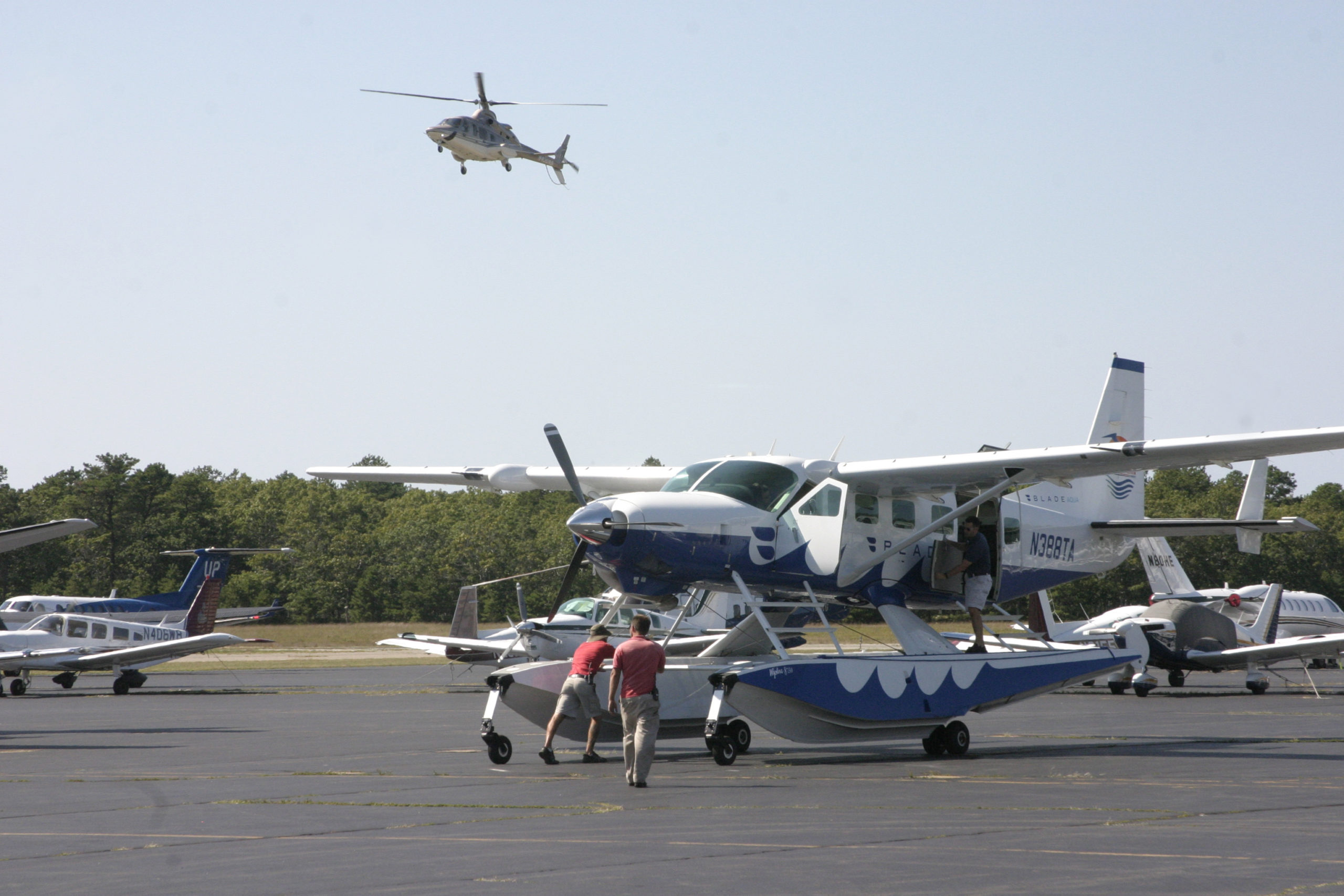 The East Hampton Town Airport.   MICHAEL WRIGHT