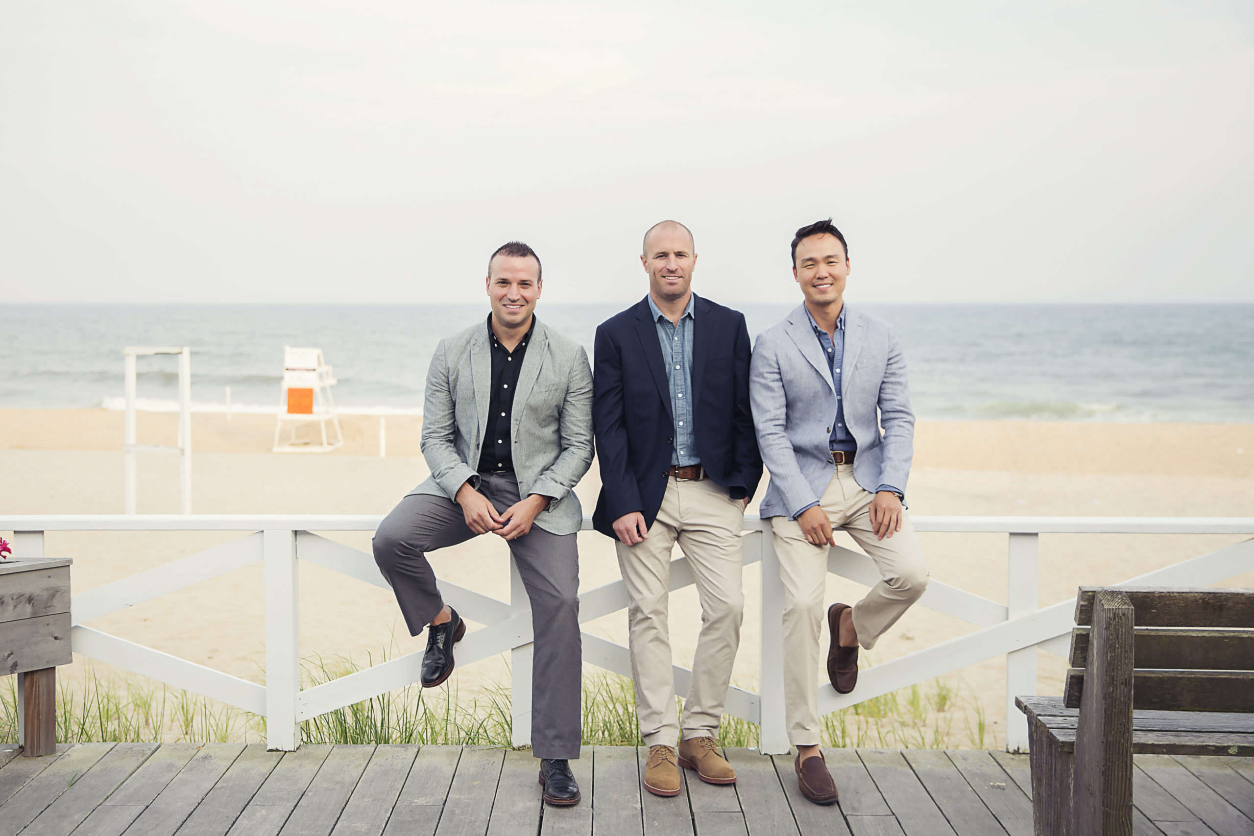 The Atlantic Team's Justin Agnello, Hara Kang and James Keogh.